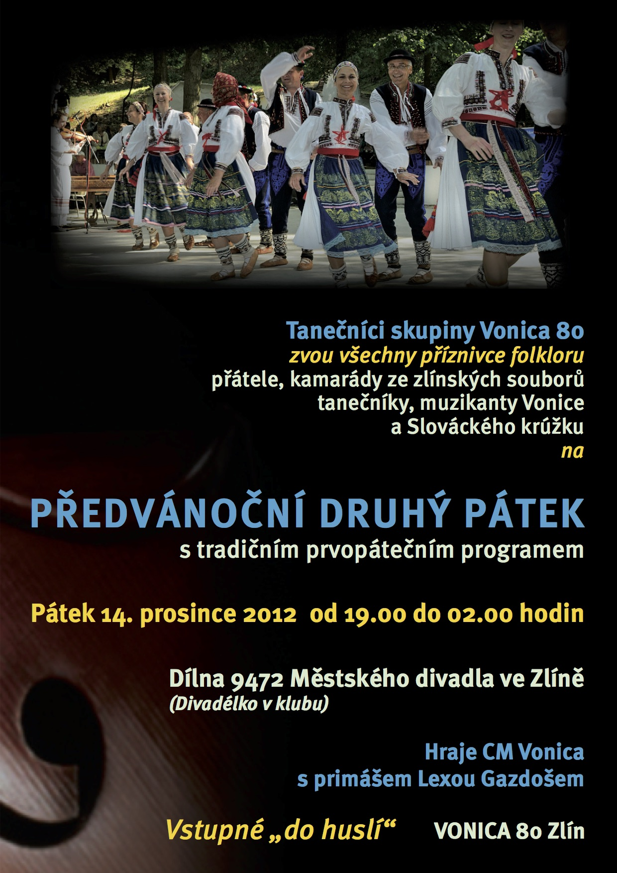 První pátek 14.12.2012